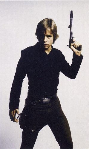 Luke Skywalker. I kind of love him a ridiculous amount.