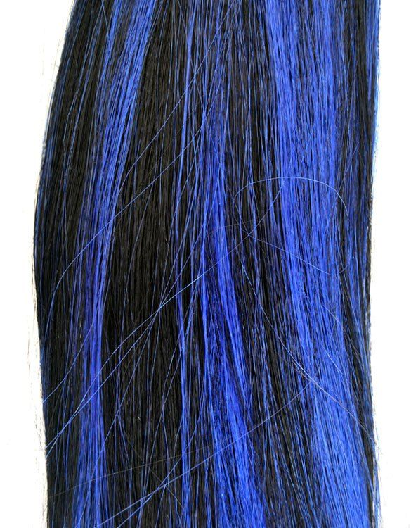 Black & Blue Synthetic Weave