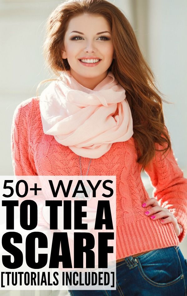 These tutorials are LOADED with ideas on how to tie scarves to make you look fashionable this Fall and Winter. Make sure to bookmark this page!!!