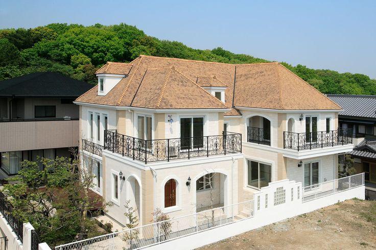パリ郊外型の輸入住宅 イル・ド・フランス|フレンチモダンコンセプトハウス|輸入住宅をお探しならトップメゾン | トップメゾン株式会社