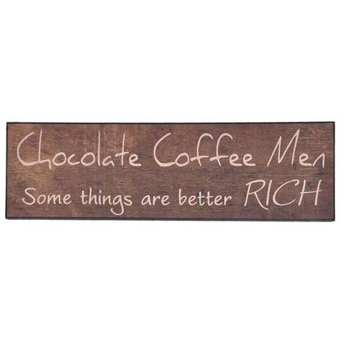 Plaque - Chocolate Coffee