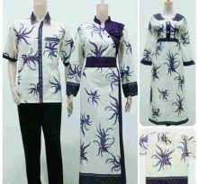 Batik Sarimbit Gamis Soraya Cakar Ayam Ungu Family(Anak Gamis) - Fashion Baju Batik Modern Pria dan Wanita Grosir Batik Terlengkap, Termurah dan Terpercaya