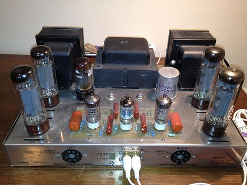 Dynaco ST-70 stereo amp | Input board by Triode Electronics | Flickr