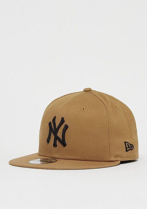f33d9ee73 Jetzt New Era 9Fifty MLB New York Yankees Essential wheat/black ...