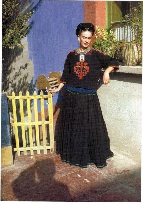 Frida at Casa Azul