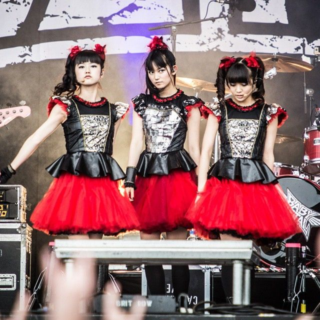 Babymetal at Rock Im Revier! #babymetal