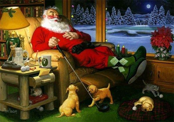 Santa Claus, de Tom Newsom | Image du Blog bruixeta.centerblog.net