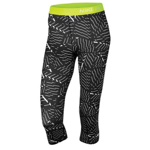 Nike Womens Pro Classic Bash Training Capris Pants BlackWhiteVolt XL X 18 BlackWhiteVolt *** Check out this great product.(This is an Amazon affiliate link and I receive a commission for the sales)