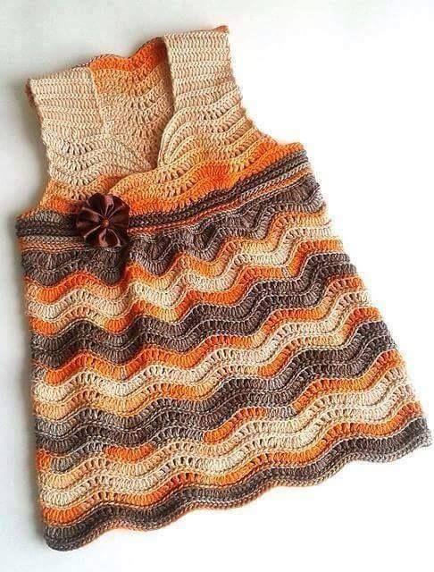 Crochet Dress...wavy or chevron
