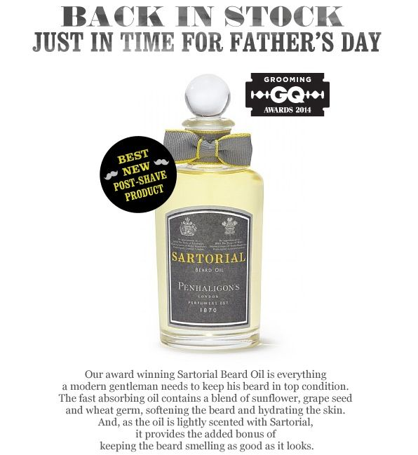 Indulge your Dad with a special @Penhaligon's Ltd treat this #FathersDay, #RegentStreet.