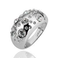 링 18 천개 골드 아름다운 반지 18 천개 골드 인기있는 보석 반지 도매 가격 무료 배송 vz ol LGPR088