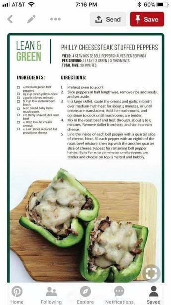 These Stuffed Papers And Quick Easy And Delish Make Them Tonight For Your Lean And Green Meal