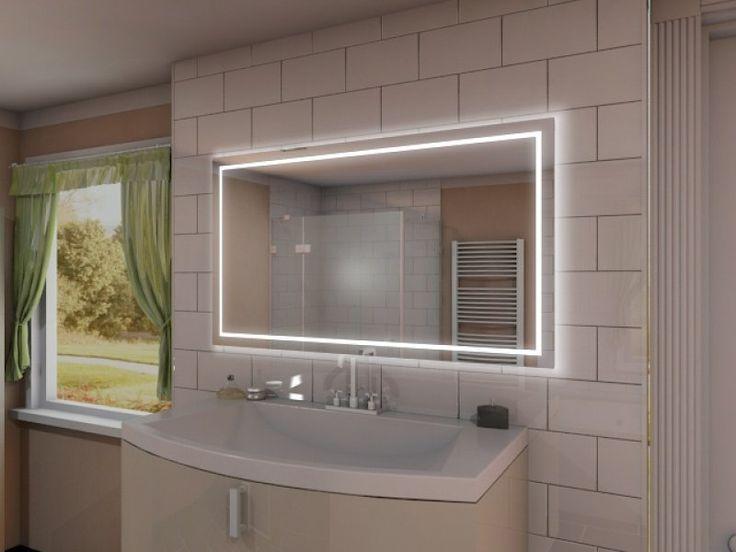 25+ parasta ideaa Badspiegel Mit Led Beleuchtung Pinterestissä - led licht für badezimmer