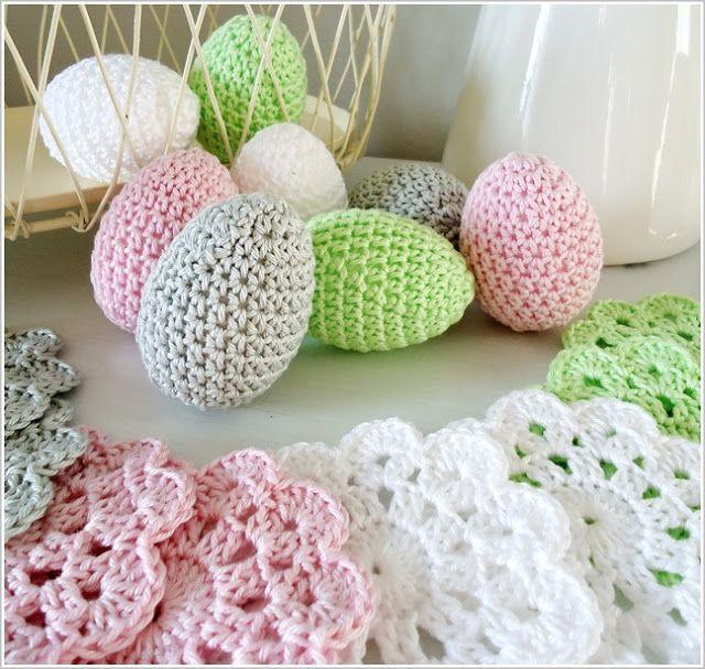 Easter crochet ideas - must translate