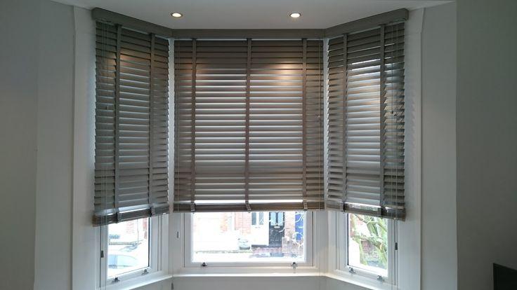 pingl par Sophie Valle sur Store Rideau  Blinds Bay window blinds et Kitchen blinds