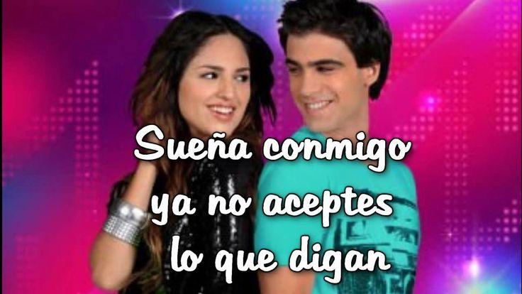 """Sueña Conmigo + letra  - Eiza Gonzalez """"clara"""" y Santiago Ramundo """"luca"""""""