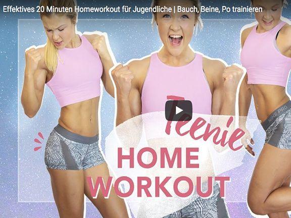 Fitness-Star Sophia Thiel trainiert mit Ihnen 20 Minuten effektives Homeworkout!