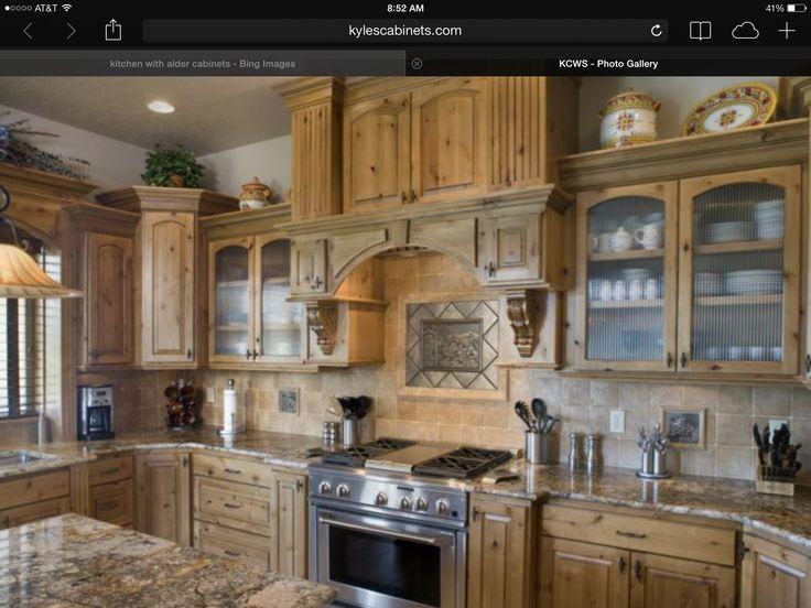 23 best knotty alder images on Pinterest   Dream kitchens ...