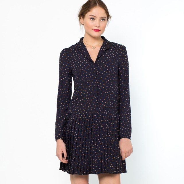 Vestido plissado Mademoiselle R no site de compras do blog e revista de moda Simplesmoda.com