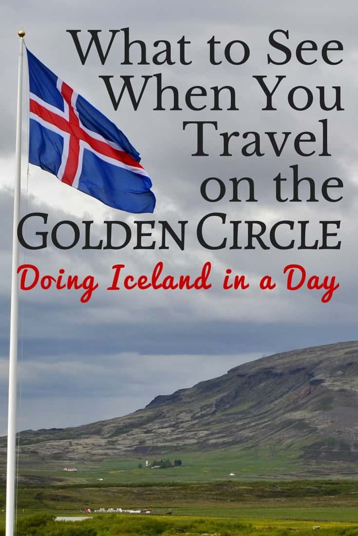 Iceland Golden Circle in a Day Trip Plans
