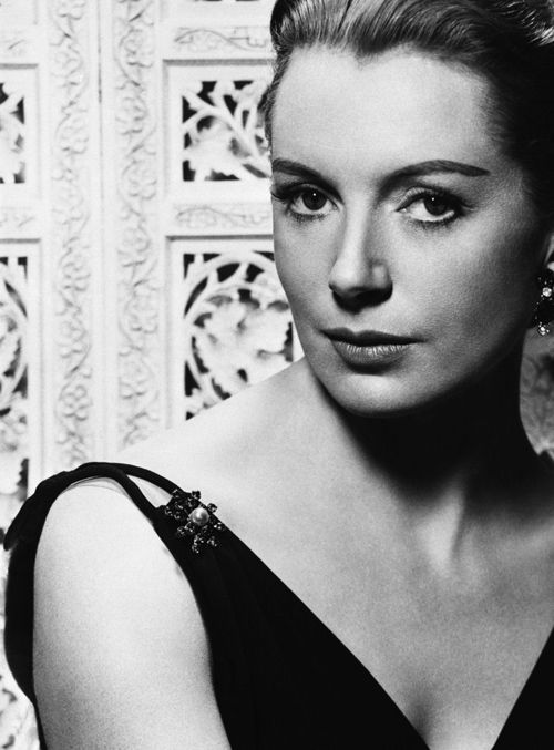 """Intelligence more than anything else makes a girl sexy. A big bust on an unintelligent girl looks ridiculous."" - Deborah Kerr"