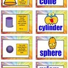 """""""3d Shape Game""""  is a fun activity for reviewing & consolidating the properties and names of common 3d shapes.   This version of the game cove..."""