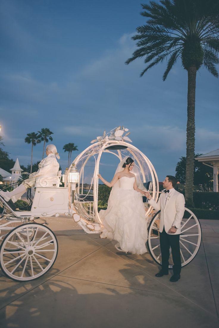 Love birds Erica & Ozzie had the fairy tale wedding of their dreams at Disney's Wedding Pavilion