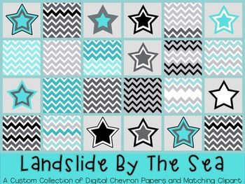 FREE CHEVRON PAPER AND STAR GRAPHICS {TPT SELLERS} COMMERCIAL AND PERSONAL USE - TeachersPayTeachers.com