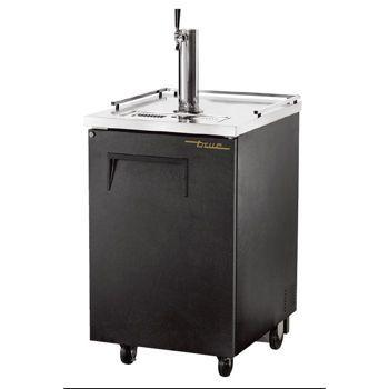 Black and Silver Everest Single Keg Beverage Dispenser