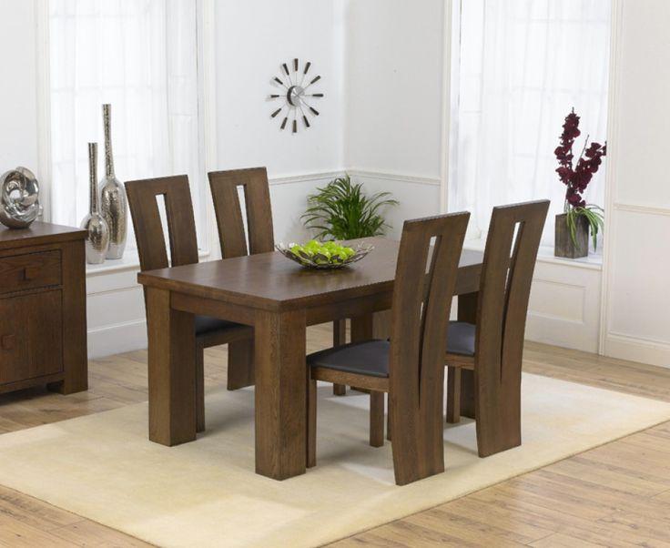 Dark Oak Dining Table O Wall Decal