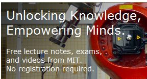 Over 2,000 free college courses from MIT. No diploma, but you get the knowledge for free!