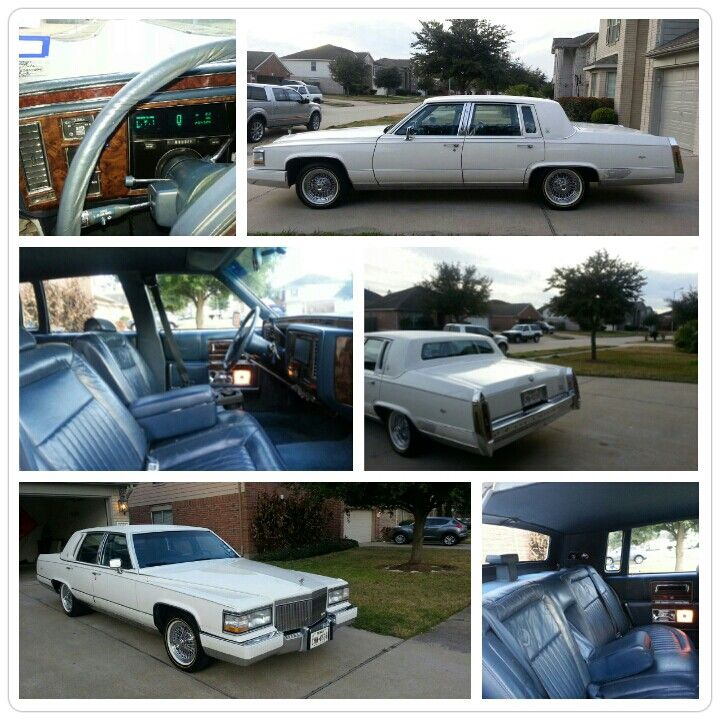 1991 Cadillac Brougham Clean cold a/c New tires and paint job interested call me @ 8303286816 for $5000 negotiations welcome