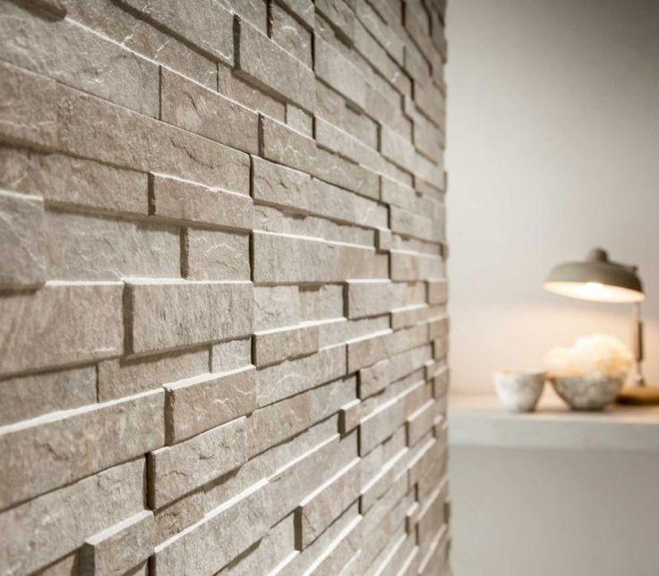 Wood Feature Accent Wall Ideas Using Flooring: Bayker Walls Porcelain Tile