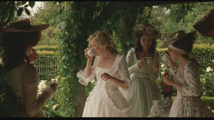 from Marie Antoinette, worn by Kirsten Dunst as Queen Marie Antoinette - The Trianon scenes have the BEST gowns