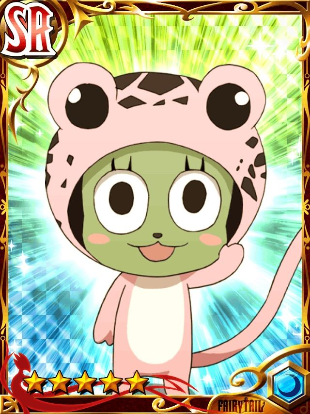 Cards from the Fairy Tail Brave Guild game
