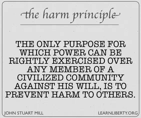 The Harm Principle - John Stuart Mill