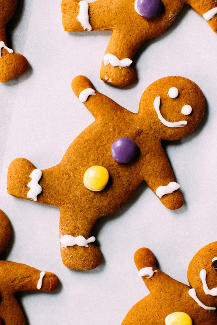Soft, Chewy Gingerbread Men Ginger bread cookies recipe