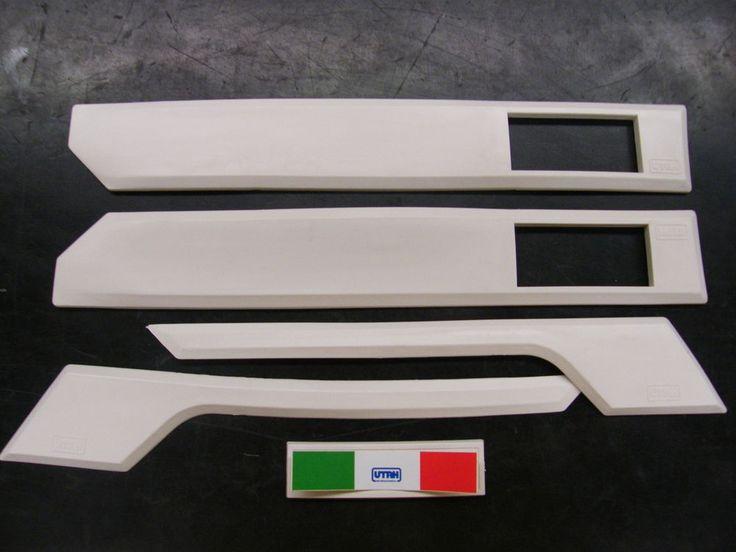UTAH Kit Modanature Modanatura Profili Carozzeria  Piaggio Vespa T5 col. Bianco