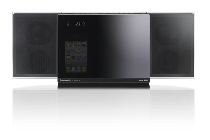 Panasonic Micro HiFi System DAB+ / iPod / CD SC $399 State-of-the-art sound technology, smart networking and a sleek design