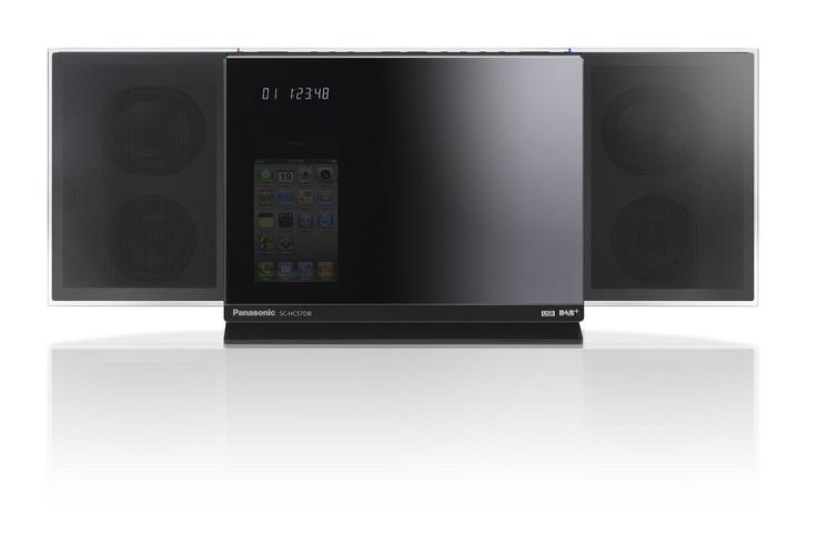 Panasonic Micro HiFi System DAB+ / iPod / CD SC $399 State-of-the-art sound technology, smart networking and a sleek design