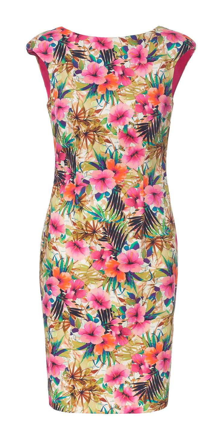 FLORAL PRINTED TUBE DRESS - Dresses - Woman - New collection | ZARA United Kingdom