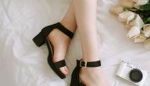 Mẫu giày cao gót đế vuông đẹp thời trang TPHCM | Shop giày cao gót Quận 1
