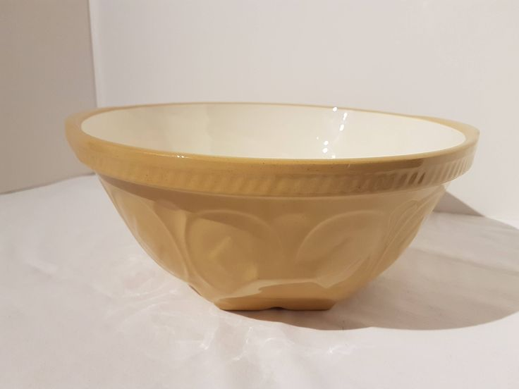 Antique / Vintage Gripstand Mixing Bowl Made In England Greens & Co Diamond Pattern by UptownRetroMod on Etsy
