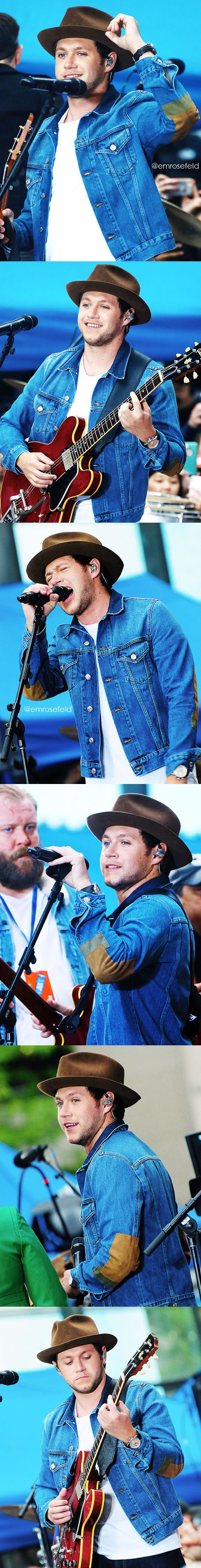 Niall Horan | on the Today Show 5.29.17 | emrosefeld |