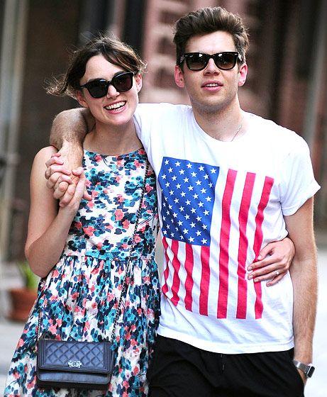 Keira Knightley y James Righton #sunglasses #gafasdesol