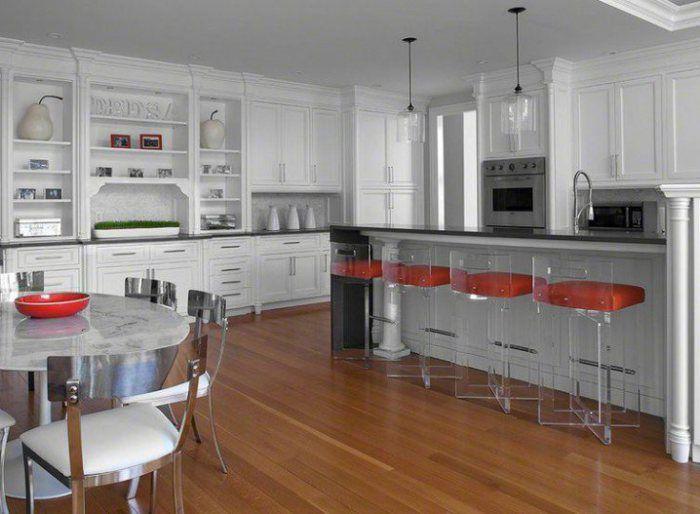 acrylic bar stools for your stylish kitchen  classy