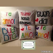 Resultado de imagen para almohadas personalizadas