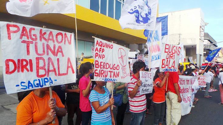 More groups condemns Kidapawan dispersal The Standard | Defining The News
