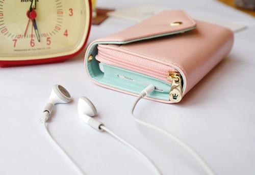 ETO Multi Use Wallet Case Coin Purse Wrist Bag