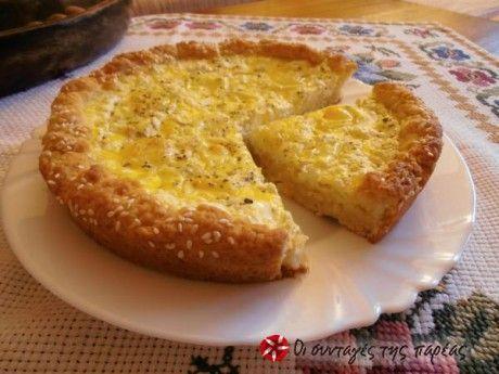 Μια πολύ γρήγορη συνταγή για τυρόπιτα της φίλης μου της Ελένης!